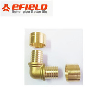 Rehau Style Male Connection Brass Fitting,Copper Sleeve Adaptor Pex Fitting  - Buy Rehau Style Male Thread Connection Brass Fitting,Brass Water