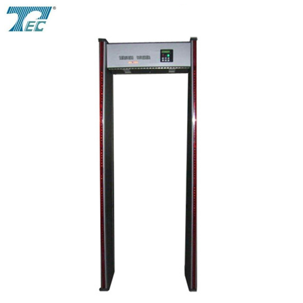 Walk Through Safety Metal Detector TEC-500A Airport Super Body Scanner