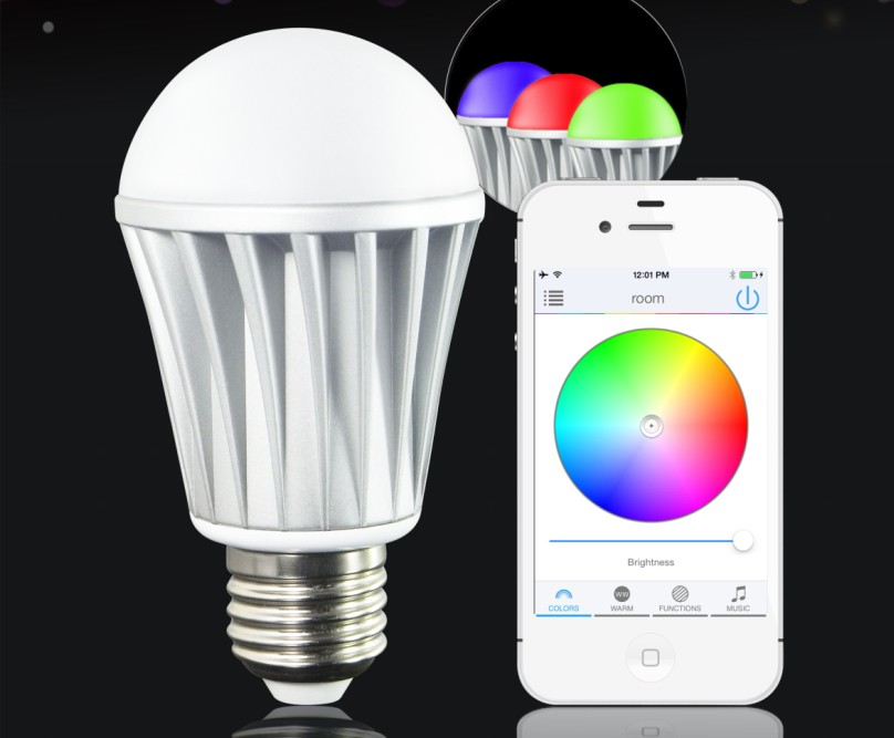 Insteon LED wireless smart led light bulb