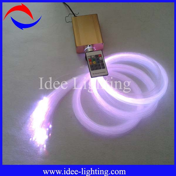 DIY LED fiber optic light, DIY fiber optic light, Fiber optic light