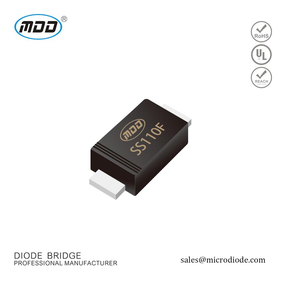 50 x BAT41 silicio diodo Schottky 100 V DO-35