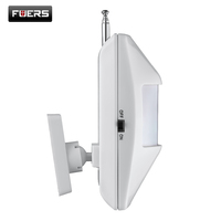 ABS pir sensor 433mhz wireless motion detector for smart home security alarm system