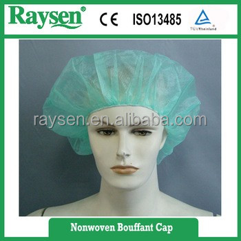 disposable making machine surgical hostical mob cap with elastic
