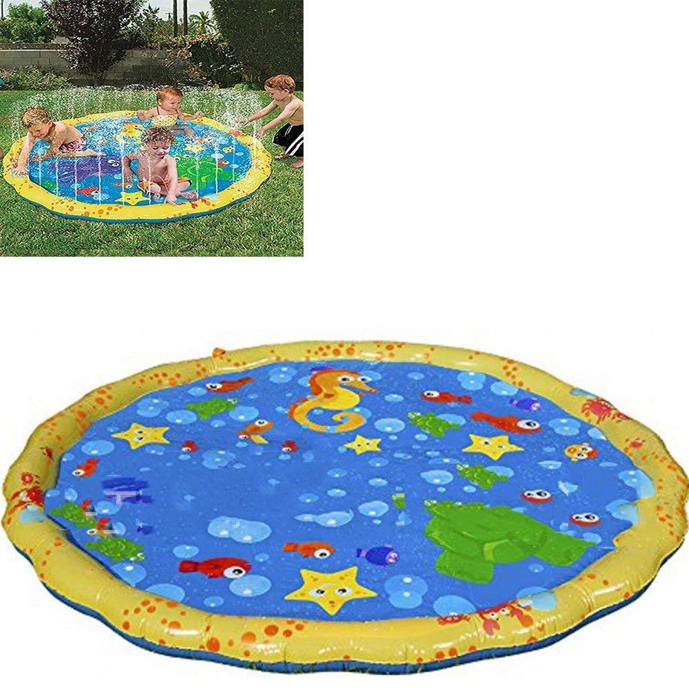 Get Quotations Sprinkler Mat Kids Outdoor Water Play Spray Pool Activity