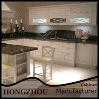 China Made Hanging Wall Kitchen Cabinet Design