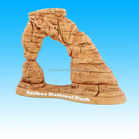 polyresin usa souvenir picture frame resin arches national park photo frame