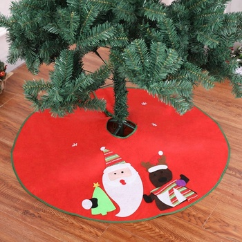 new year wholesale christmas decor tree skirts