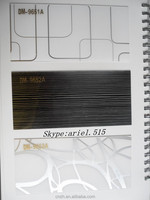 Fancy pattern decorated types acrylic sheets