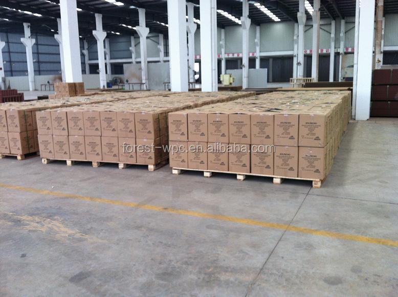 Plancher En Bois Clic Verrouiller Machine Bambou Revetement