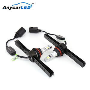 Anycarled 20W 36W H4 H13 Led Headlight Bulb Kit 9004 9007 Zes Motorcycle Cars H7 Led Headlight 4000Lm
