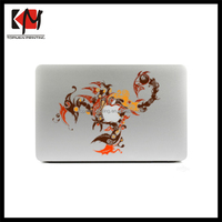 Pretty colourful animal skin decals for macbook/laptop