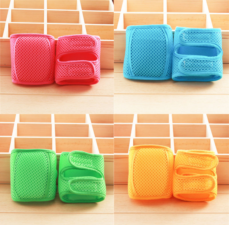 Baby breathable knee pads Baby Crawling knee protector Pure cotton kneecap