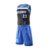 Healong Basketball Jersey Uniform Design Color Blue Digital Printing Black Basketball Jerseys