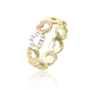 14036 New Hot Fashion Jewelry,Cheap Gold Plated Creative Gifts, Love Heart Hollow Rings