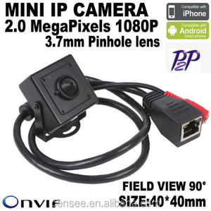 Security Cmos 3.6mm Lens H.264 Compression Onvif P2P Hidden Camera For Hotel, 2 MP Full HD IP Camera, Hidden Camera Video