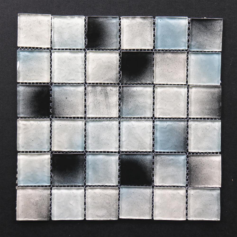 BE288 3D gebogene wellenförmige arch Foshan klare kristallglas ...
