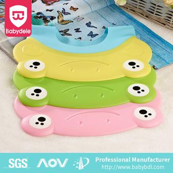 Amazon best seller Baby Shower Cap Wash Hair Shield Bath Shampoo Hat Bear  Design Protective Safety db091645dbd