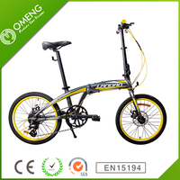 City bicycle 16 inch folding bike for student mountain bike cheap sale