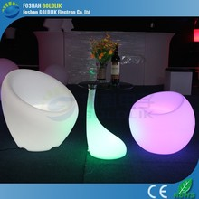 Waterproof LED Illuminated Outdoor Furniture with RGB 16 Colors Light