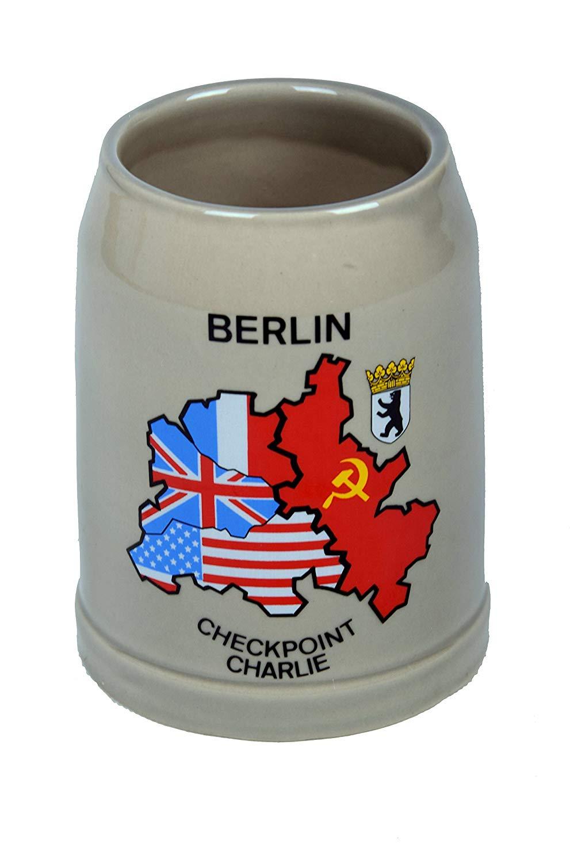 Deutschland German Pewter Coat of Arms Beer Mug 0.3l Beer Steins By King