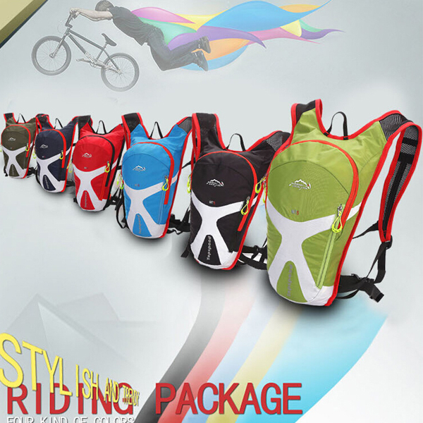 Professional customized 15L nylon waterproof jogging outdoor travel hydration backpack bag