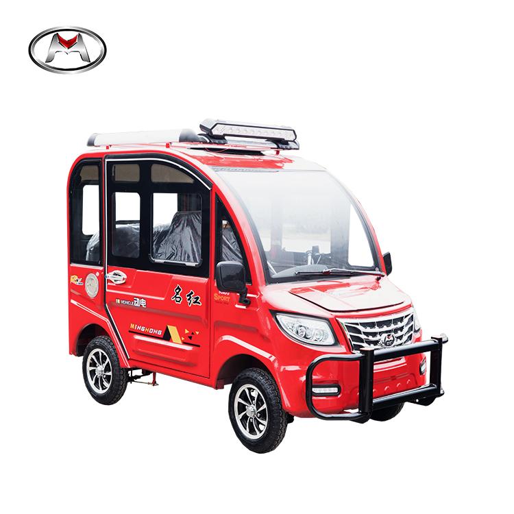 New energy electric tuk tuk taxi solar power car