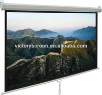 VICTORY manual shelf lock projection screens