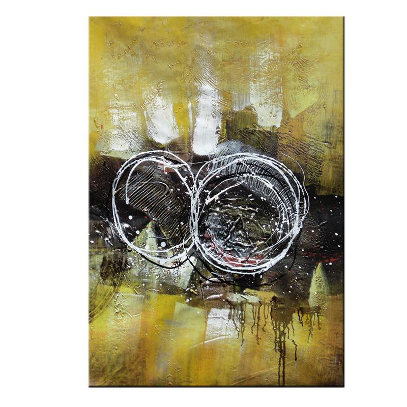Peinture A L Huile Sur Toile 5 M Decor Direct D Usine Peinture A L Huile Paysage Abstrait Double Cercle Buy Belles Peintures Abstraites Peinture De Diamant De Cristal De Bricolage Decor A La Maison Product On Alibaba Com