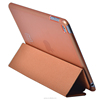wood texture leather folding case for ipad mini 4