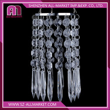 AM132L Home decoration light cover with clear drops