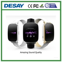 Desay Strong CPU Pedometer Remote Capture Smart Watch Heart Rate GPS Phone Tracker DS-C609