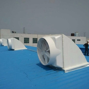FRP horn ventilating industrial fans wall mounting fan for Textile factory