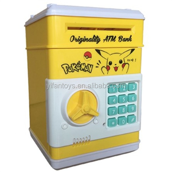 Wholesale ATM piggy bank save Safe money saving box ,Mini cartoon bank saving money toys