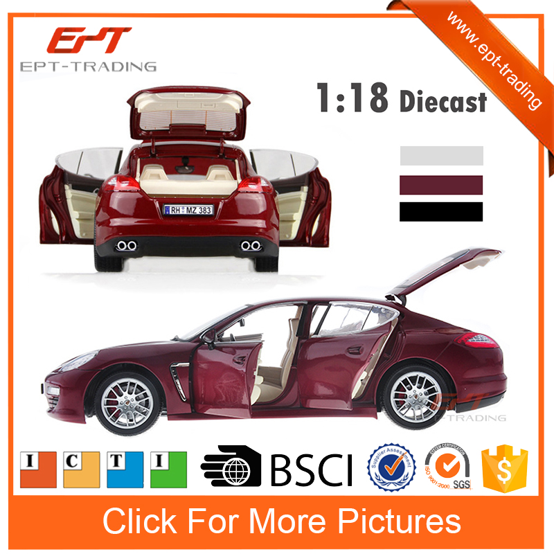 2015 Hot selling 1:18 scale licensed diecast model car for collect