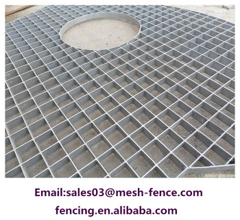 Catwalk steel grating for the support of floors and for Catwalk flooring