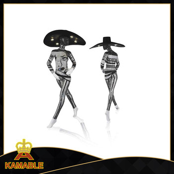 2016 New Design Fancy Decorative Modern Woman Led Floor Lamp