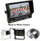 "Car Reversing Rear View System with 7"" touch buttons monitor and single CCD Camera"