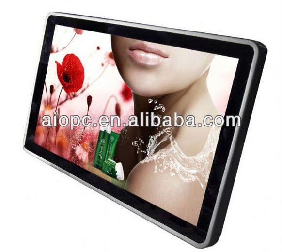 20 Inch Wall Mount Touch Panel LCD Advertising