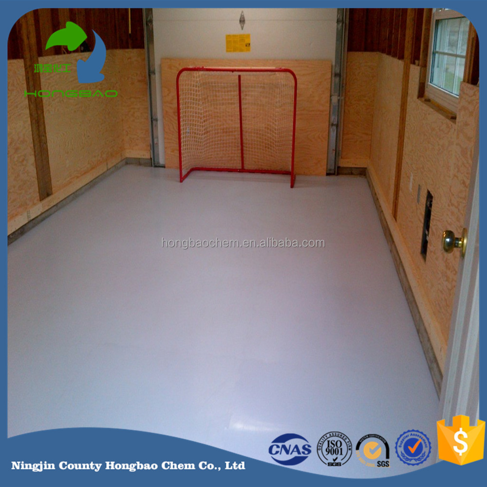 uhmwpe synthetic ice rink/synthetic ice hockey training sheet/ Artificial rink and barrier