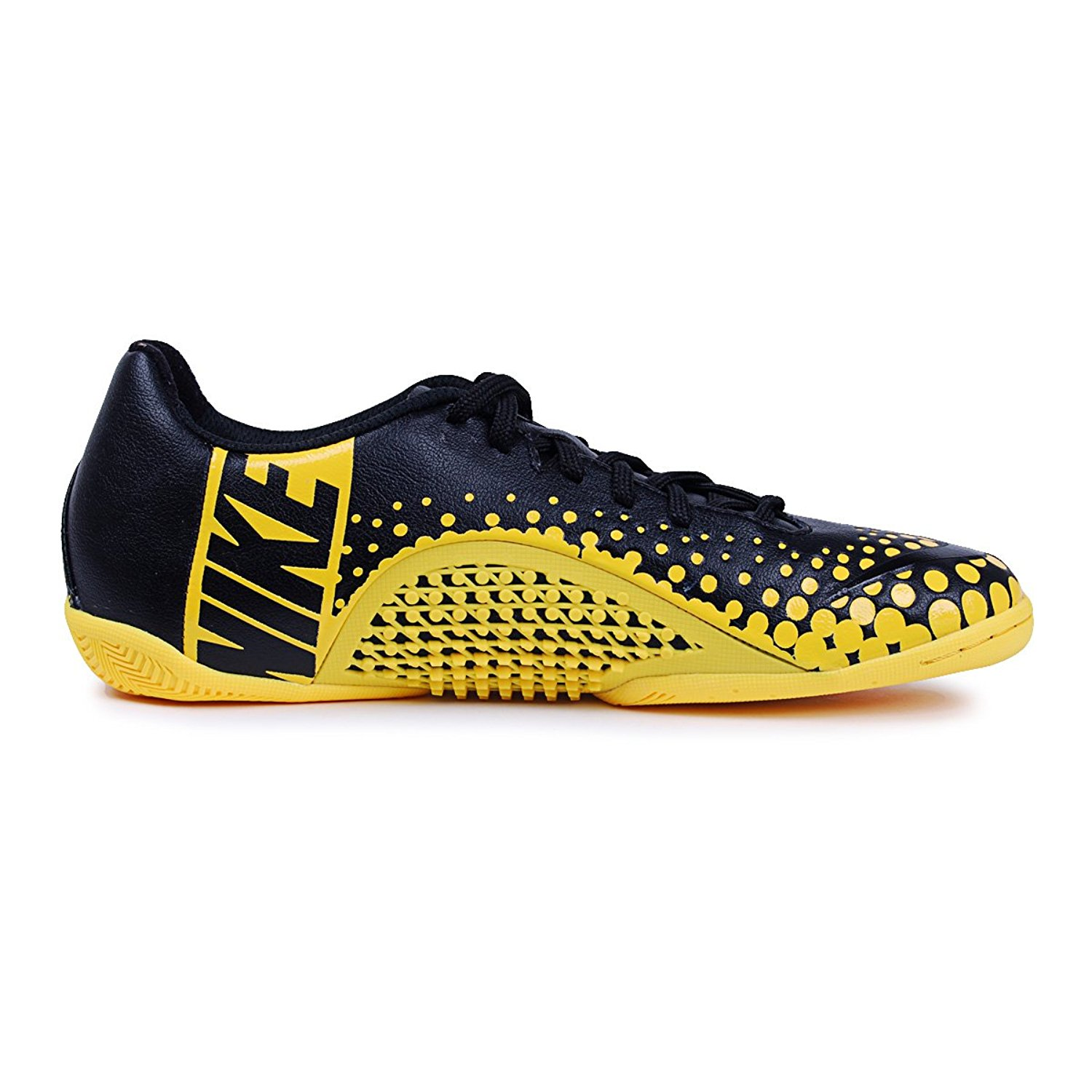 hot sale online f8484 7cd59 Get Quotations · NIKE5 ELASTICO FINALE INDOOR SOCCER SHOES (BLACK TOUR  YELLOW BLACK)