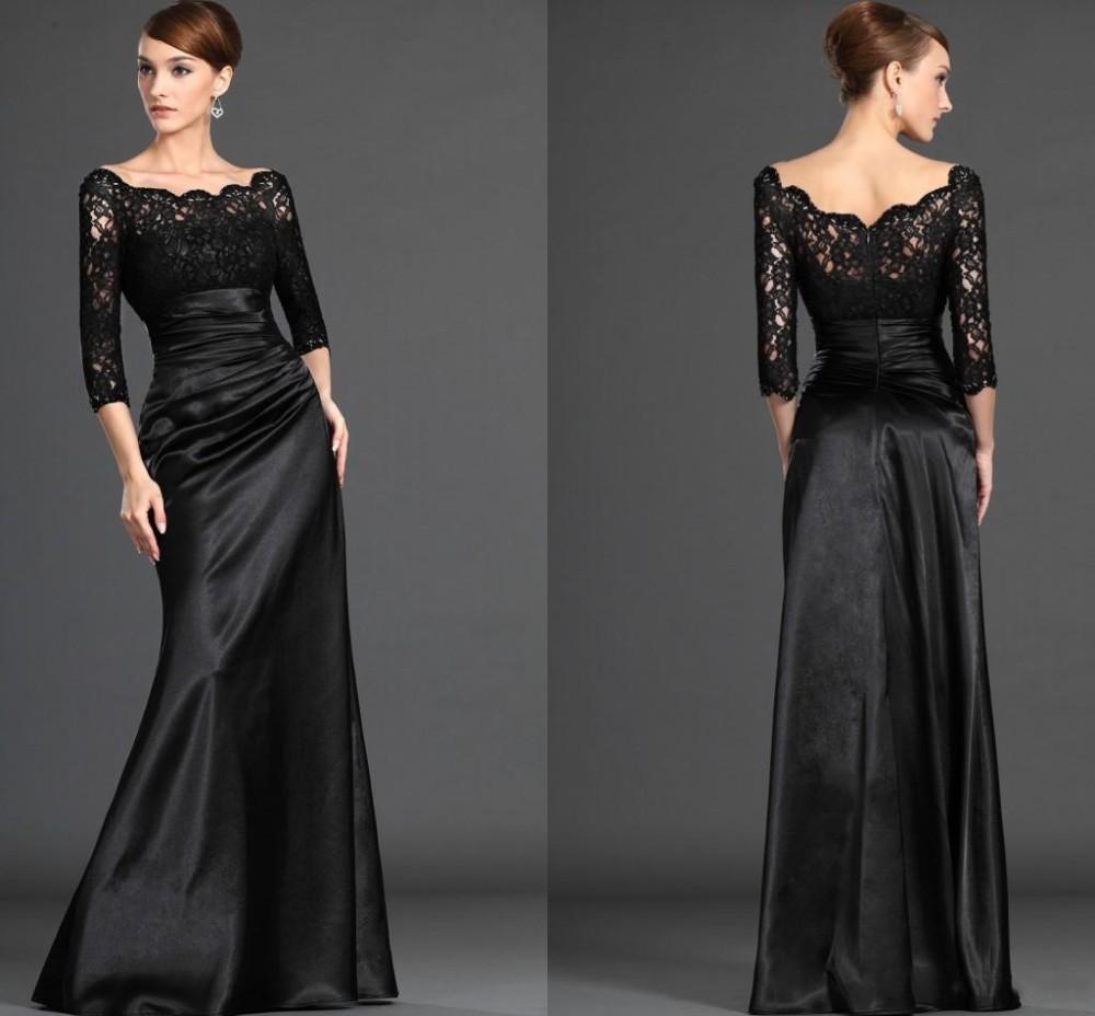 Mother Of The Groom Dress: 2016 Elegant Designer Black Mother Of The Groom/Bride