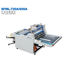 SFML-920A <span class=keywords><strong>Lijmloze</strong></span> En Pre-coated Thermische <span class=keywords><strong>Film</strong></span> Semi-auto Lamineermachine