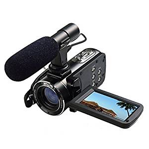 Creative Vado Camcorder External Microphone XM-AD2 Dual Channel XLR-Mini Audio Adapter for DSLR/'s Camcorders and Pro Video Cameras with SDC-26 Case