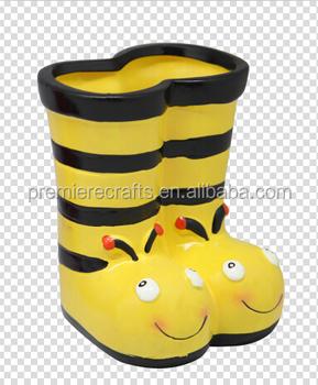 99b130c1fa755d Bee Shoes Ceramic Pots For Plants