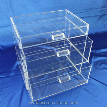 USA Beauty Box, Acrylic Makeup Storage Containers, Acrylic 7 Drawer U0026 Clear  Makeup Organizer