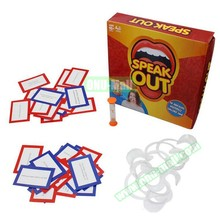 Fast Delivery Speak Out Game Mouthpiece Mouth Guard, Board Game
