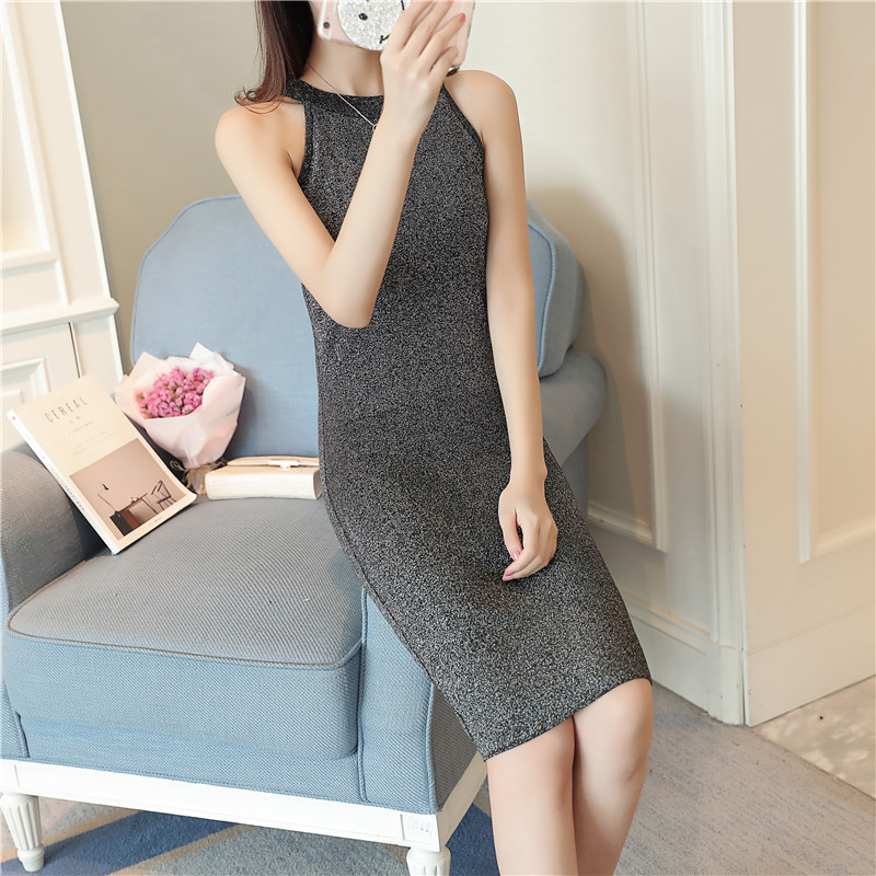 Womens Heather Gray Strapless Bodycon Knit Sweater Dress Spring Fall Lady Matching Body One Piece Dress 1706214
