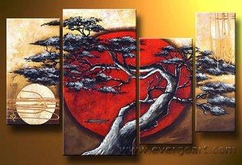 Modern Asian Art Oil Painting