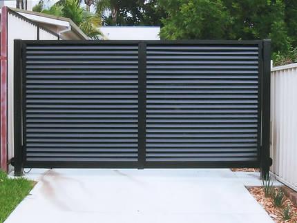 Cheap aluminium exterior main gate design villa entrance for Aluminum driveway gates prices