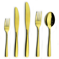 Gold plated cutlery wholesale Restaurant and Hotel Quality